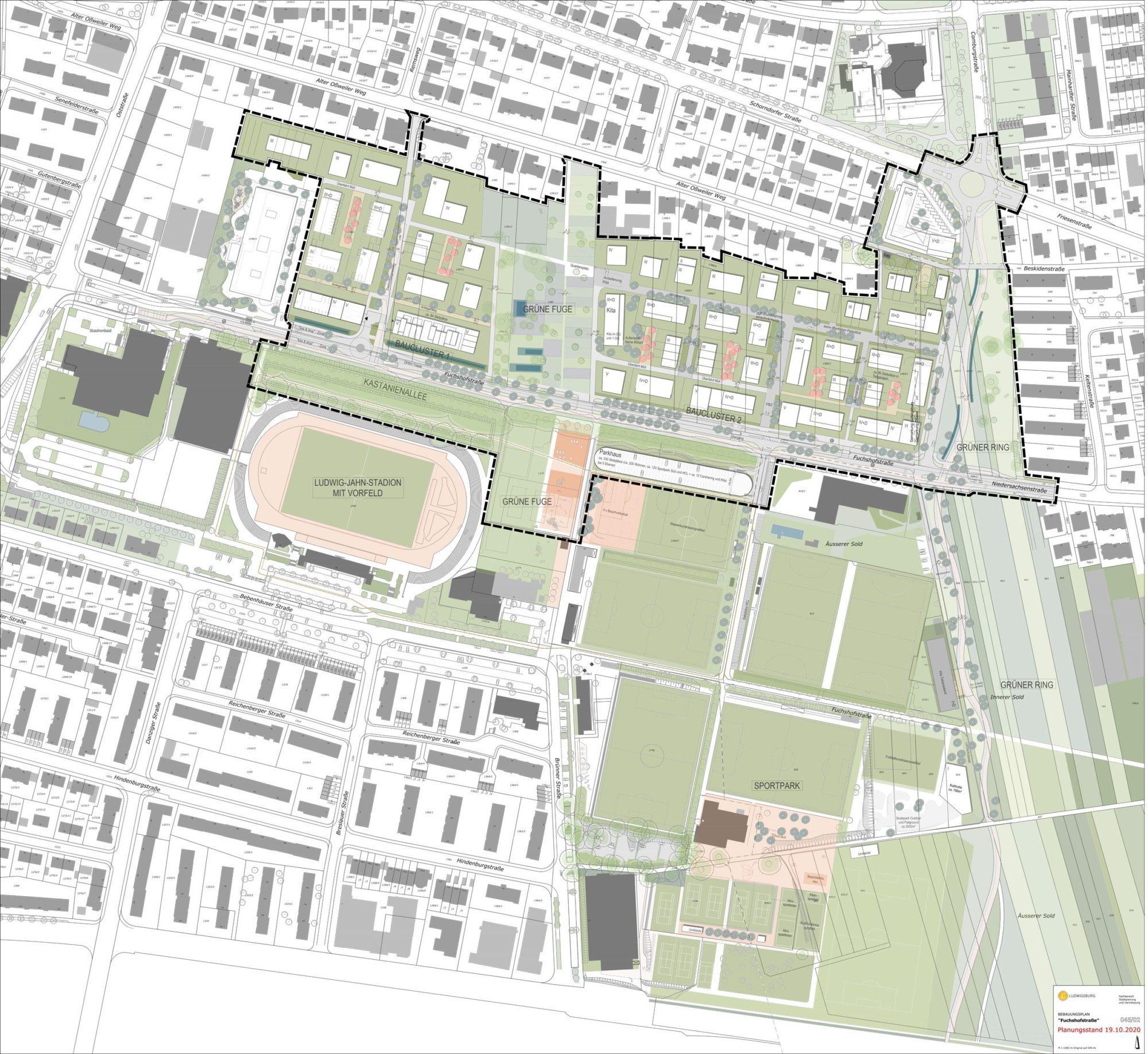 Rahmenplan für den Fuchshof