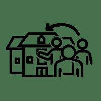 Icon für eine Bürgerbeteiligung, die von der Bürgerschaft initiiert wurde