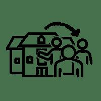 Icon für eine Bürgerbeteiligung, die von der Verwaltung initiiert wurde