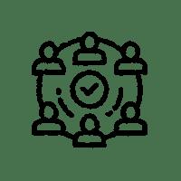 Icon für informelle Bürgerbeteiligung
